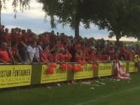 1. Austragung eines Relegationsspiels in Amrichshausen
