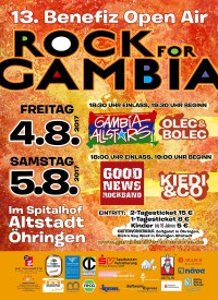 ROCK FOR GAMBIA