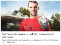 Coca-Cola Aktionscodes sammeln