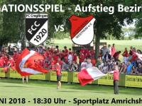 Relegationsspiel in Amrichshausen