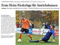 Heimspiel gegen den FSV Hollenbach II