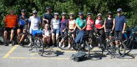 E-Bike-Tour der SCA-Fußballsenioren im Vinschgau in Südtirol
