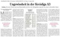 Bericht aus der Hohenloher Zeitung v. 21.08.2020
