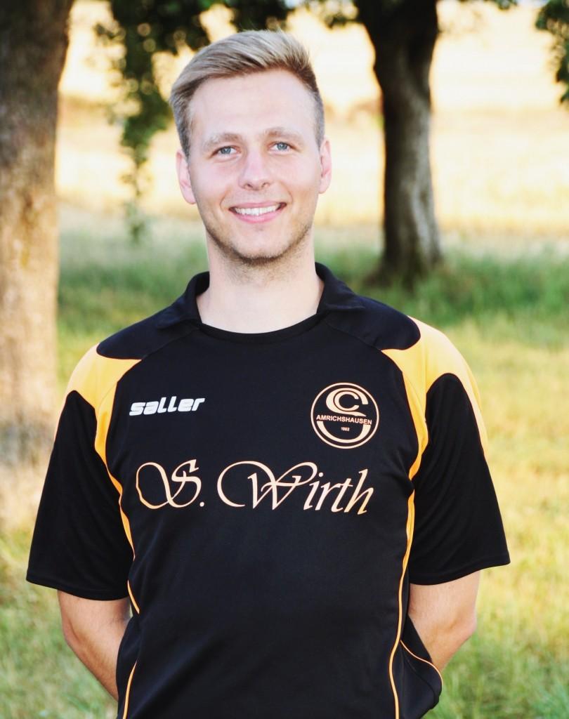 Jugendleiter Fabian Rudolph