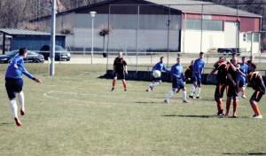 Spielszene Freistoß TSV Bitzfeld