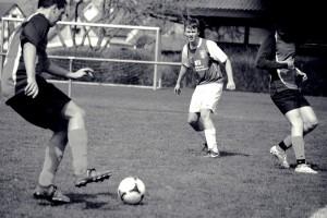 Hannes Gleiter beim Reservespiel SCA-Zweiflingen